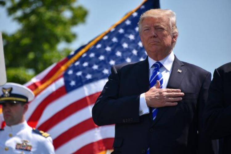 Image result for Trump salutes