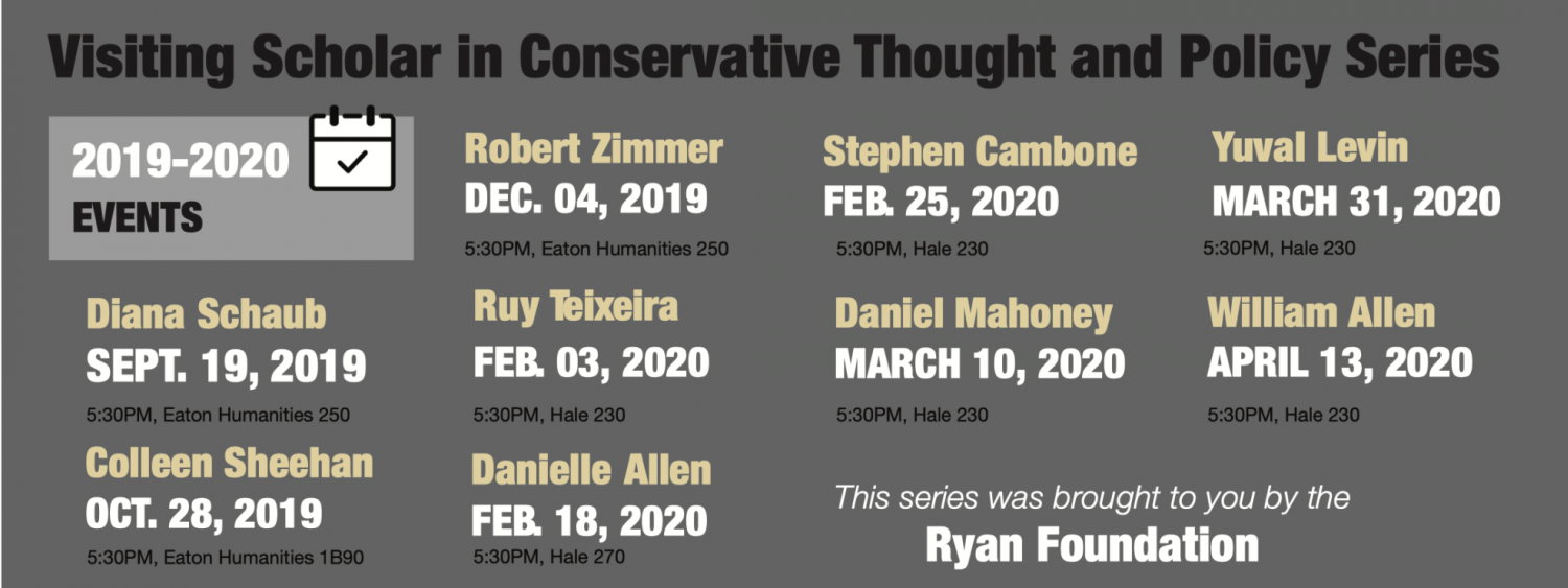 conservative thought and policy speaker calendar