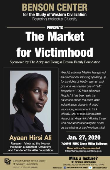 Hirsi Ali Event