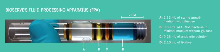 Annotated diagram of the FPA used in the AES-1 experiment