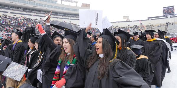 Master's degree graduates