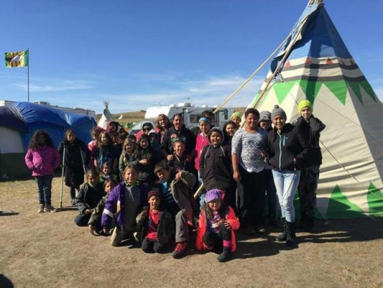 Standing Rock school