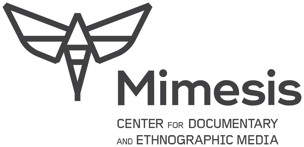 Mimesis Moth logo with text reading Mimesis Center for Documentary and Ethnographic Media