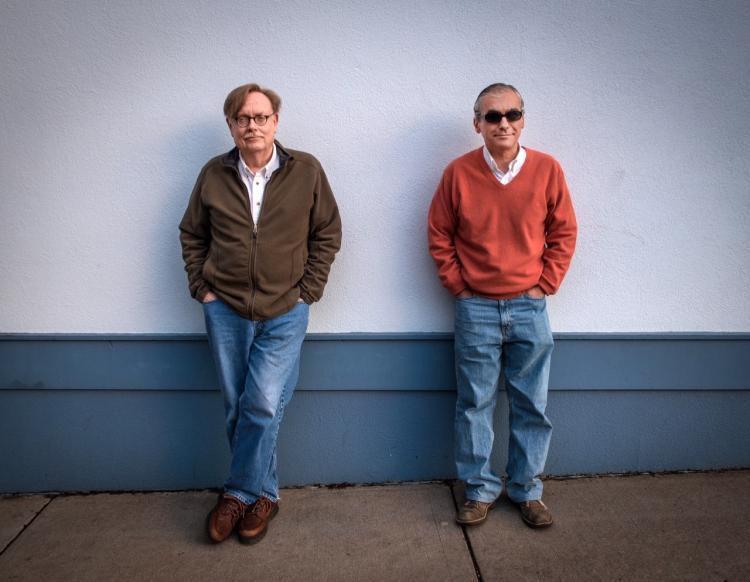 Photo of Dan Boord and Luis Valdovino.