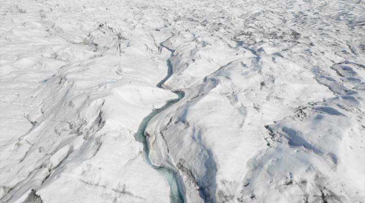 photo of glacier landscape