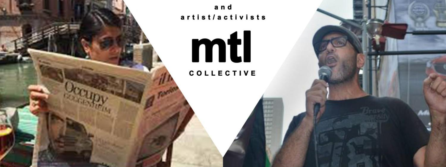 Promotional poster featuring Trinh T. Minh-ha and the MTL Collective.