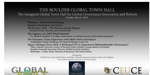 Day One of Global Town Hall