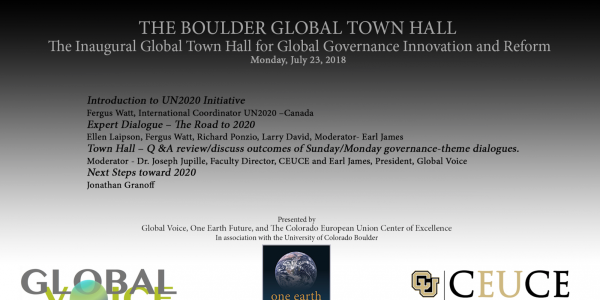 Day Two, Global Town Hall, Monday, July 23, 2018