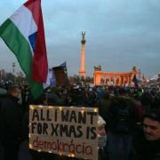Protest in Hungary