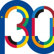 Jean Monnet 30 Year Anniversary logo