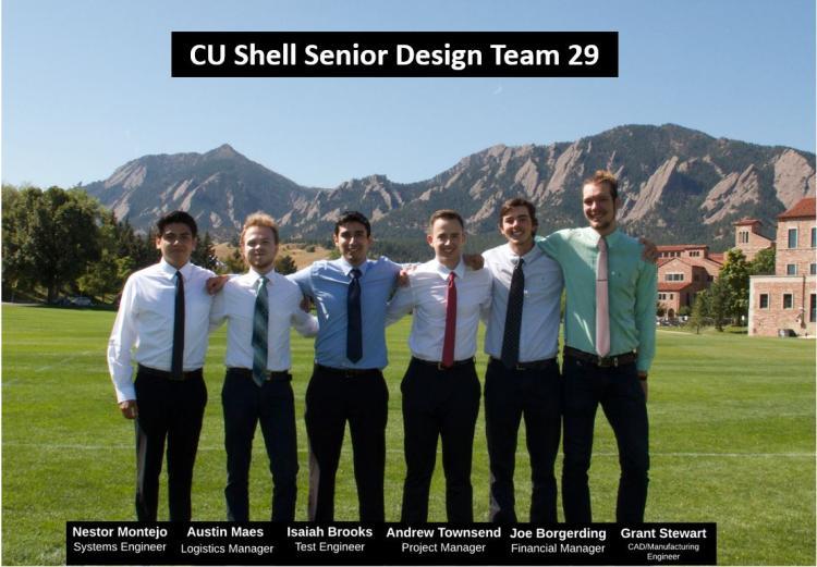 CU Shell Senior Design Team