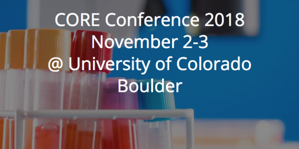 CORE Conference Save the Date November 2-3