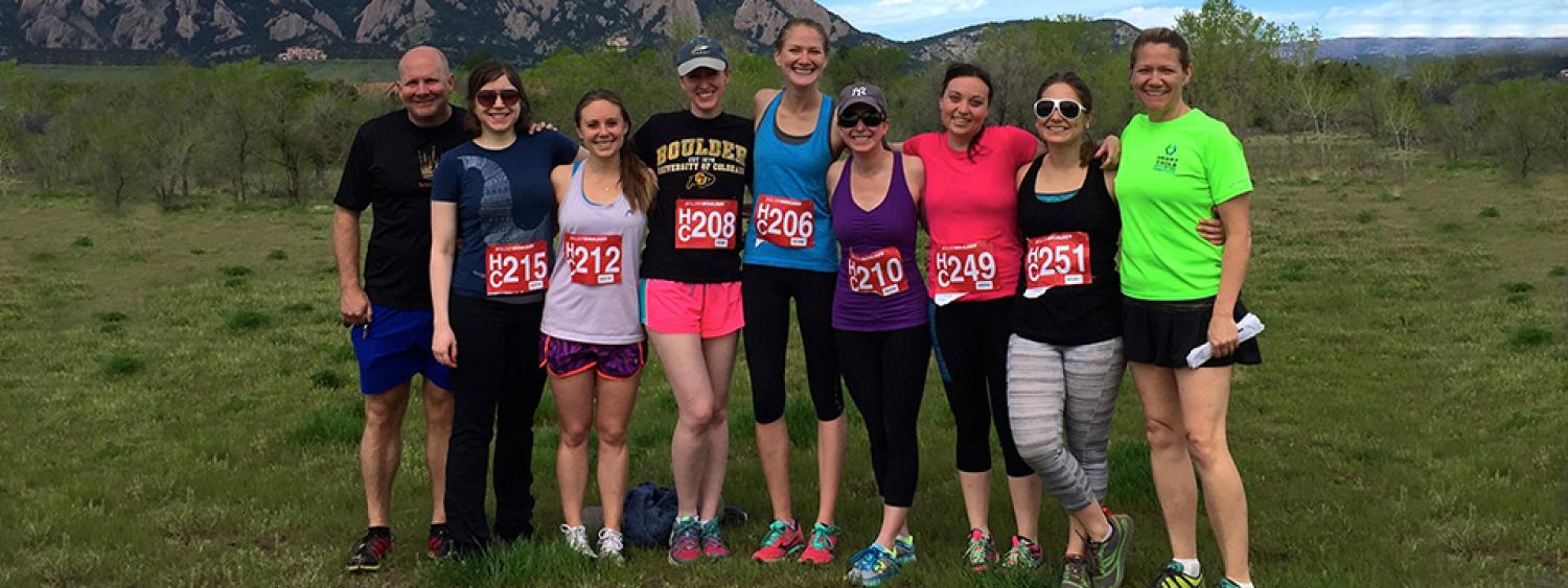 Exercise and the CU Change Lab, Boulder CO