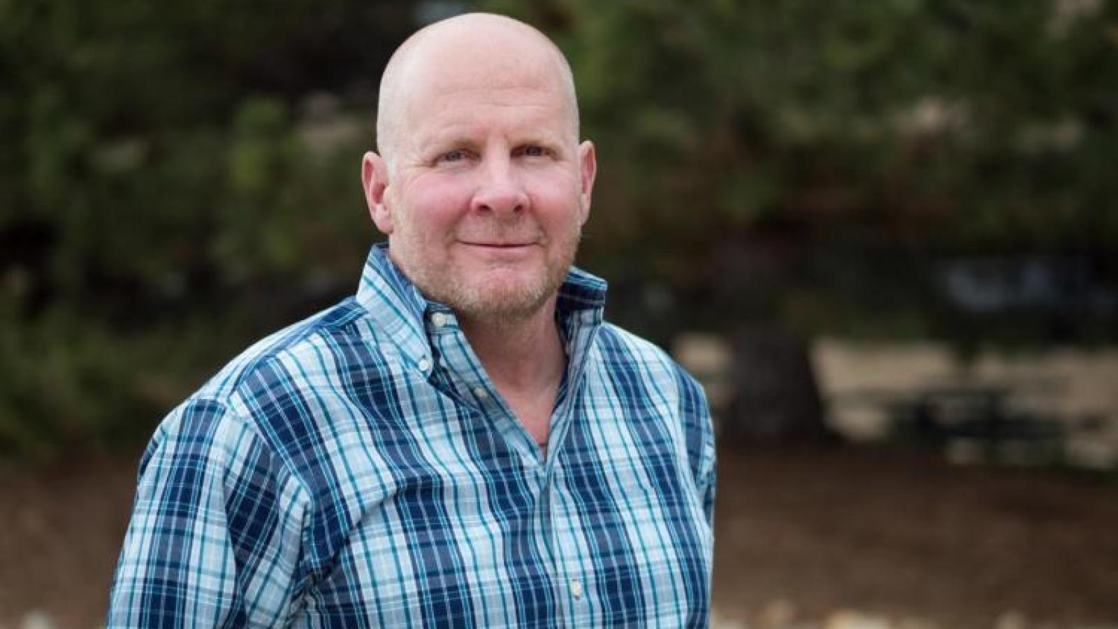 Kent Hutchinson of the University of Colorado, Boulder