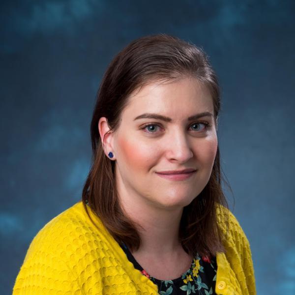 Photo of IEC staff member Christina Shelton