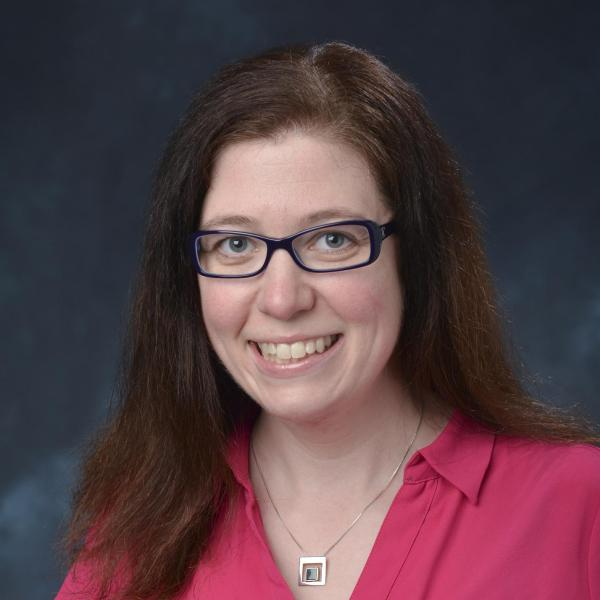 Photo of IEC lecturer Kirsten Stauffer