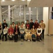 Students from TDU gathered with IEC instructors Nick and Barbara