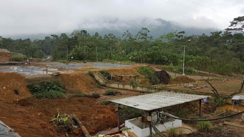 Mine remediation site