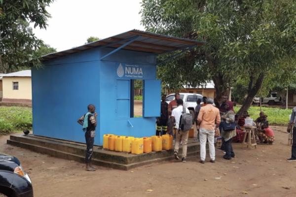 NUMA water kiosk