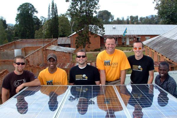 Solar panels at hospital