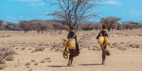 Water collection in Turkana, Kenya.