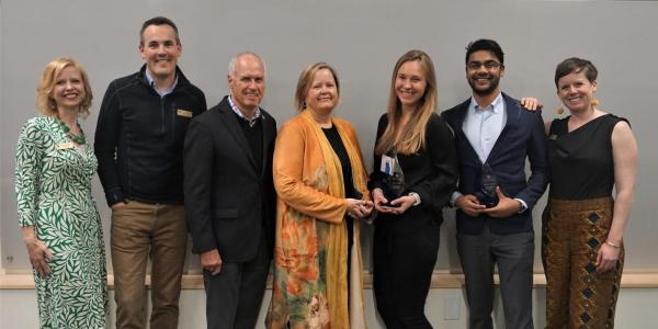 Global Engineering Award winners, staff and faculty