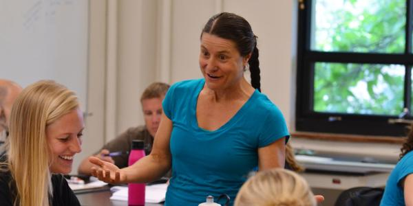 Valerie Otero teaching