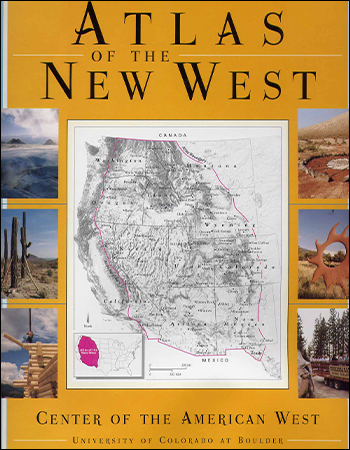 Atlas of the New West Book