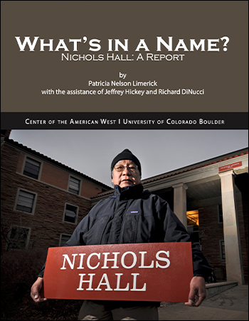 What's in a Name? Nichols Hall: A Report
