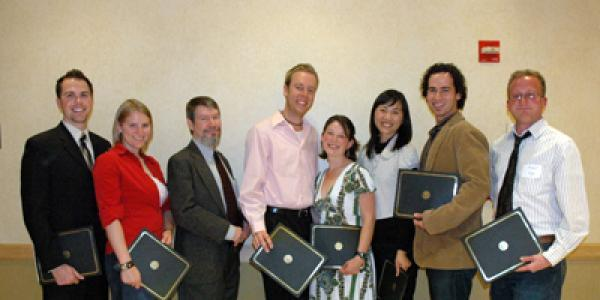 2008 Thompson Writing Award Winners