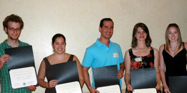 2010 Thompson Writing Award Winners