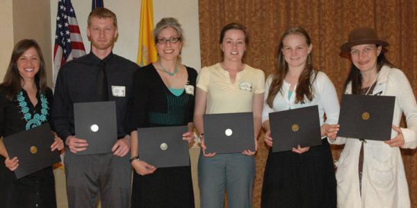 2011 Thompson Writing Award Winners