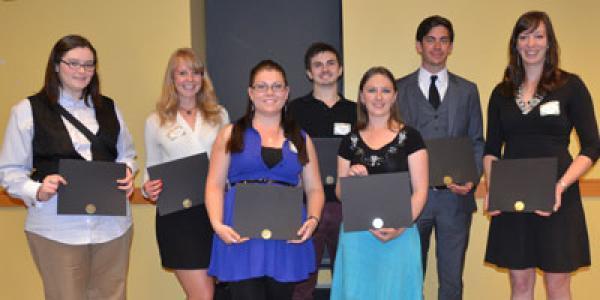 2014 Thompson Writing Award Winners