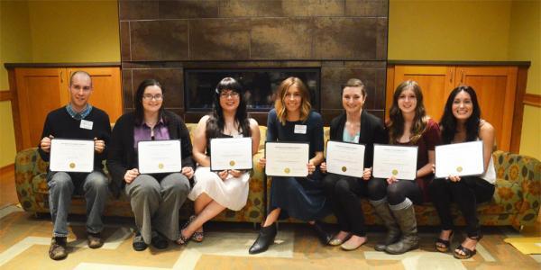 2015 Thompson Writing Award Winners