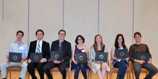 2016 Thompson Writing Award Winners