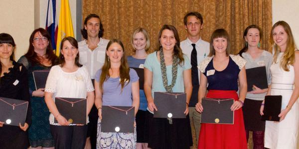 2012 Thompson Writing Award Winners