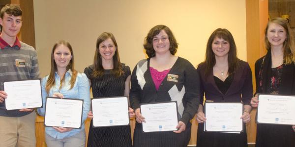2013 Thompson Writing Award Winners