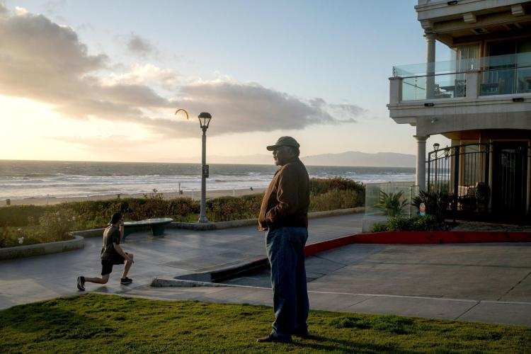 Duane Yellow Feather Shepard in Manhattan Beach, Calif., where members of his family ran a thriving beachfront resort that was seized by eminent domain nearly a century ago