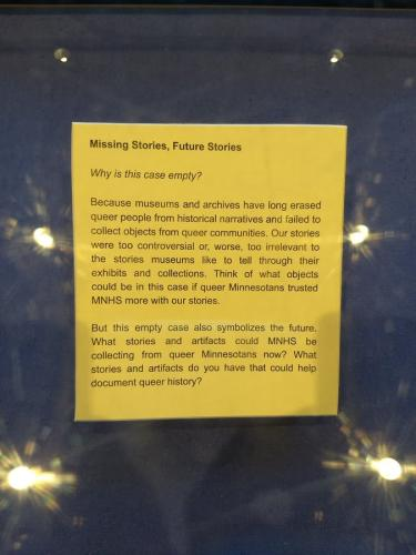 Stonewall label text