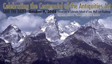 Celebration of the Centennial of the Antiquities Act Webad