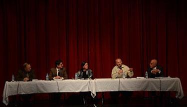 Gary Graham, Matthew Sura, Patty Limerick, Mike Paules, and David Baumgarten