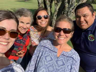 Participants from Indigenous Connections workshop