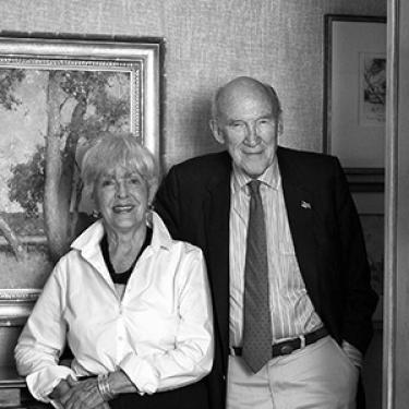 Alan and Ann Simpson