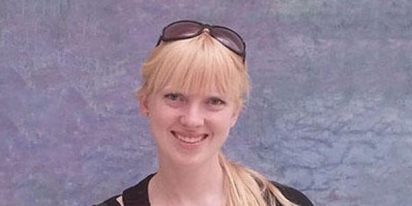 Portrait of Lauren Shoemaker, ESA Fellowship winner for 2021