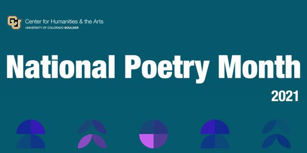 National Poetry Month Graphic