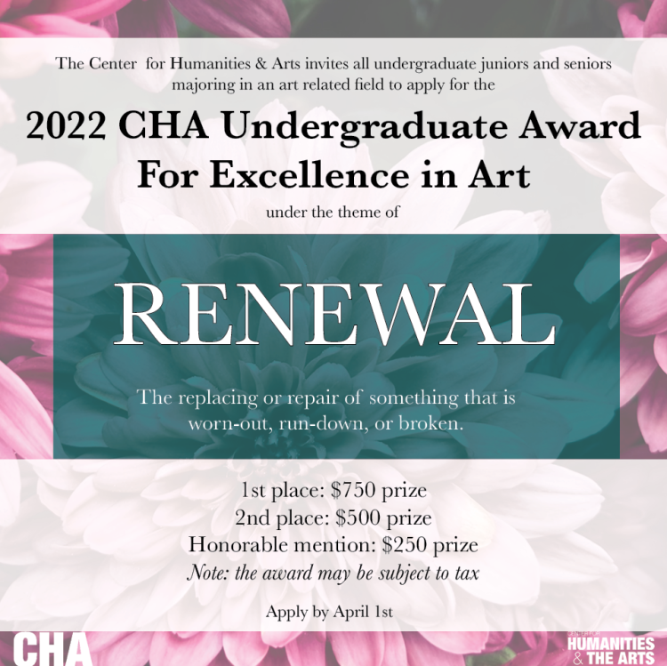 2022 Undergraduate Award for Excellence in Art