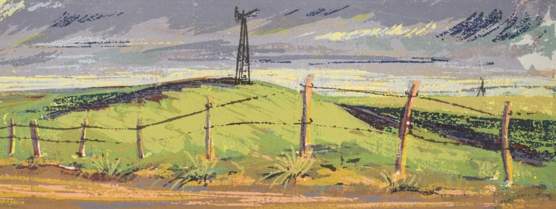 Nebraska Sandhills painting by Kady B. Faulkner
