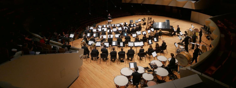 Concert in play, Macky Auditorium