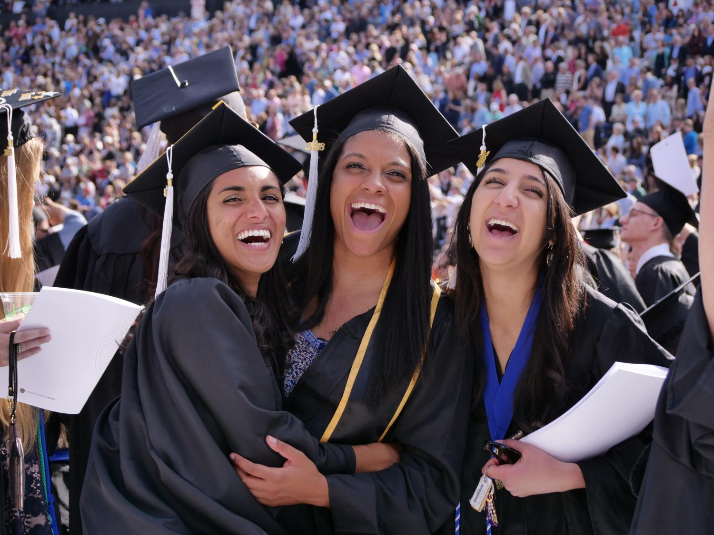CU Boulder graduates at the spring 2018 commencement ceremony