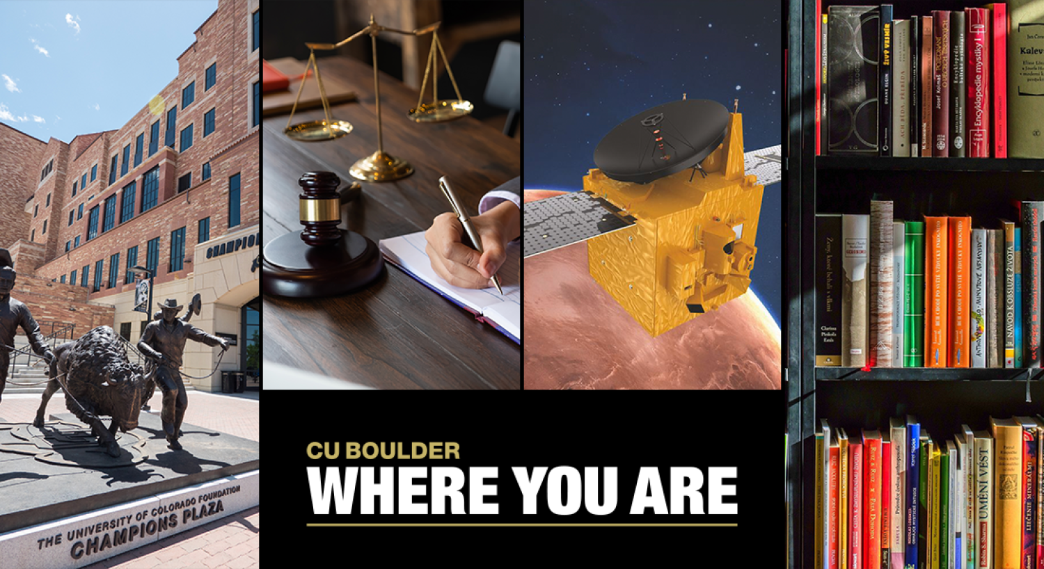 CU Boulder Where You Are banner